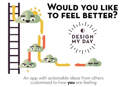 Design my day beta on boarding process for Publish my design