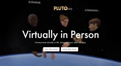 Pluto VR on Prefinery