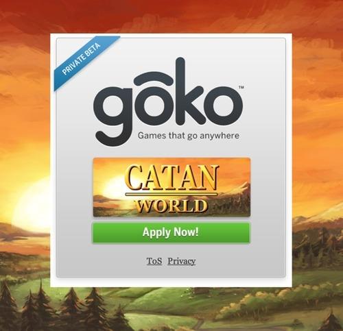Settlers of Catan by Goko on Prefinery