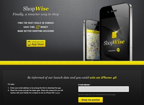 ShopWise on Prefinery