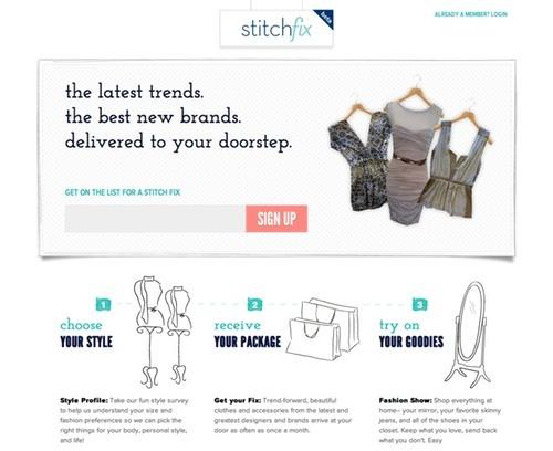 StitchFix on Prefinery